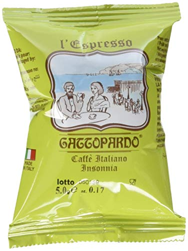 Gattopardo 100 Capsule Caffè Insonnia Comp. Nespresso