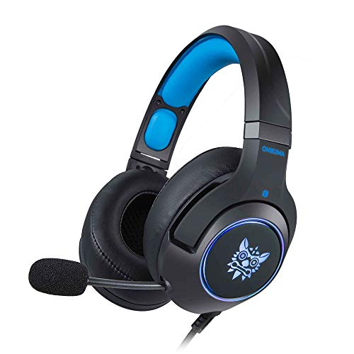 MOLINGXUAN Gaming Headsets, Gaming Headsets, PS4 Headsets, 7.1-Kanal-RGB Light-Emitting Headsets, LED-Rauschunterdrückung und Lautstärke-Controlling Headsets für PC Laptops,A