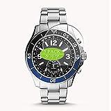 Vaxson 3 Stück Schutzfolie kompatibel mit Fossil Hybrid Smartwatch Watch CASE Size FB-02, Displayschutzfolie Bildschirmschutz Blasenfreies [Nicht Panzerglas]