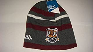 GALWAY Official GAA Ireland County Home Style Beanie hat Very Rare Limited Stock