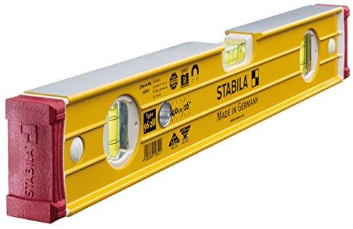 STABILA Wasserwaage Type 96-2 M, 40 cm, mit Seltenerd-Magnetsystem