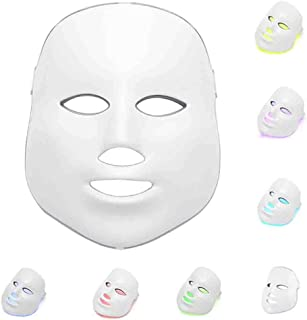 7 Color Light Therapy Mask Beauty LED Photon Skin Rejuvenation Anti-Ageing Acne Spot Wrinkle Freckle Removal Facial Skin Care