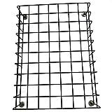 Griglia salva ustioni regolabile a calamite Accessorio anti scottature protezione bambini per stufe a pellet e legna 40x30,5x8 cm