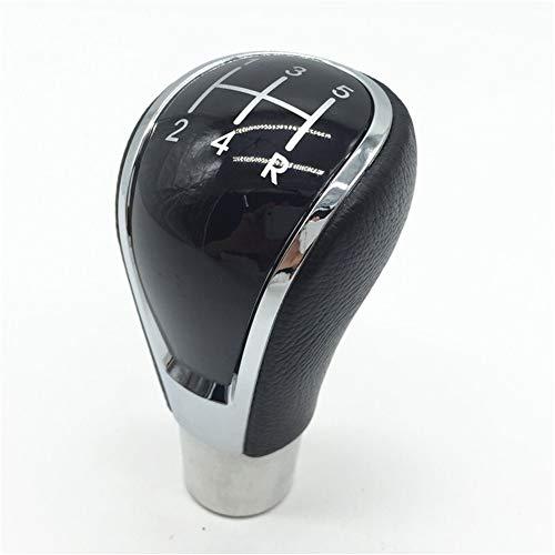 WJW-DANGWEI, 1pc 5 velocidad del coche que labra los accesorios Cambio manual de la empuñadura de la palanca de la manija del palillo de la cabeza en forma for el Hyundai Elantra IX35 / Mitsubishi ASX
