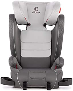 Diono Monterey XT Latch, 2-in-1 Expandable Booster Seat, Gray Dark