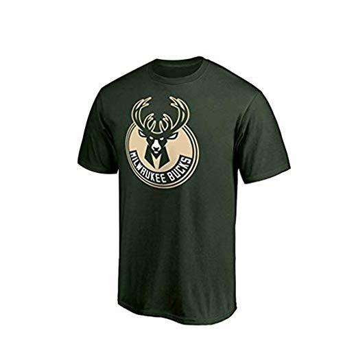 Gwgbxx Camiseta De Baloncesto For Hombre Camiseta De Baloncesto Camiseta Deportiva Top (Color : Verde, Size : M)