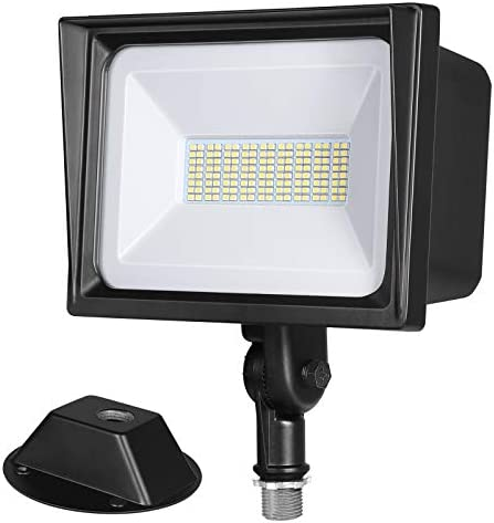 DEWENWILS 65W LED Flood Light Outdoor 6670 Lumen Super Bright 500W Halogen Equivalent Waterproof product image