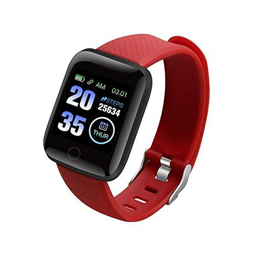 HuangTing 2020 Bluetooth Smart Horloge Mannen Bloeddruk Ronde Smartwatch Vrouwen Horloge Waterdichte Sport Tracker WhatsApp Voor Android Ios