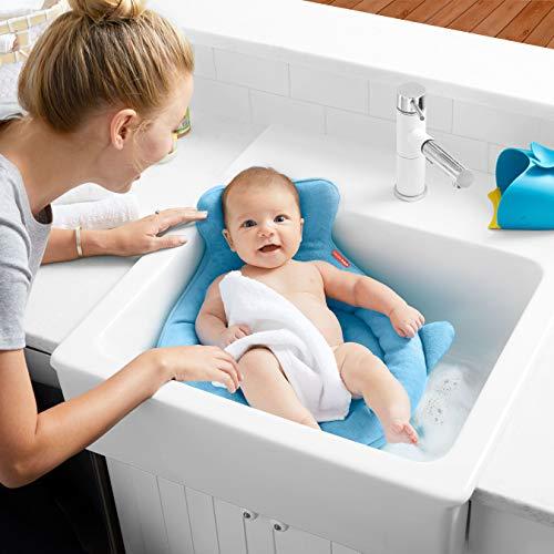 SKIPHOPスキップホップベビーバス赤ちゃんお風呂ふかふか沐浴新生児洗面台やシンクで使える乾きやすいメッシュコンパクト冬あったかソフト・シンクバス【日本正規品】BCSH235110
