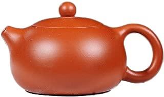 Teapot Xi Shi Zisha Pot Yixing Original Mine Zhu Mu Teapot Tea Set Tea Maker Sand Pot TongLingUSL (Color : Zhu Mu)