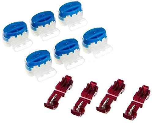 Genisys 6 Kabel Verbinder + 4 Anschlussklemmen kompatibel für Husqvarna Automower ® (Original von 3M)