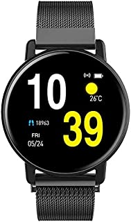 Reloj Inteligente Moda SmartWatch pulsera de reloj de pulsera inteligente rastreador de ejercicios con los monitores de la presión de oxígeno en sangre del contador de paso Hombres Mujeres for IOS And