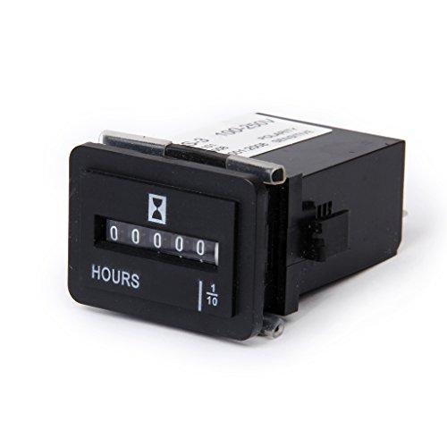 SYS-3 AC 100-250V Compteur Horaire Electromécanique Pour Moteur de Camion Voiture Bateau