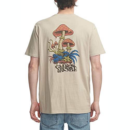 Globe Nature Walk tee Camiseta, Hombre, Cashew, S