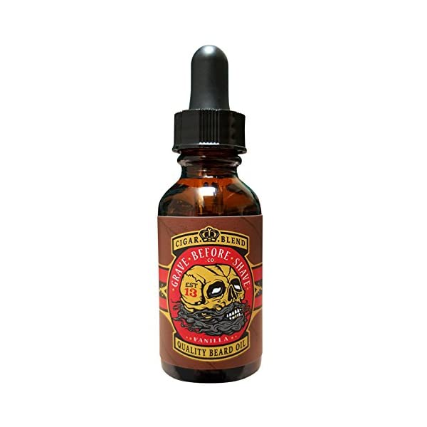 Grave Before Shave Cigar Blend Beard Oil - 1 oz 1