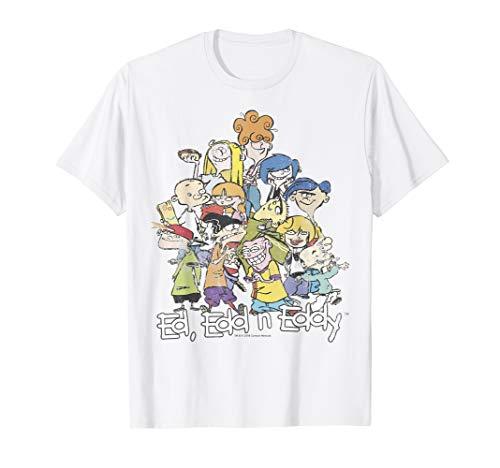 CN Ed, Edd N Eddy Group Shot Logo T-Shirt