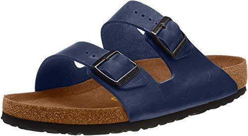 Birkenstock Classic Birkenstock Herren Arizona 51751 Pantoletten, Blau (Blau), 41 EU