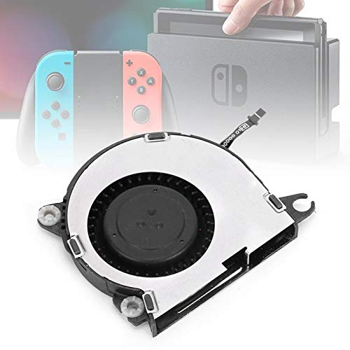 Surebuy Reemplazo Efectivo del Ventilador del Ventilador Interior de la Consola, para el Lugar de instalación, para la Consola del Interruptor, para la Consola del Interruptor de Nintendo