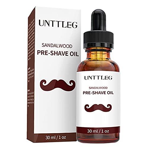 KUNMEI Aceite de Afeitado, loción de Afeitado pre eléctrico para Hombres, Aceite...