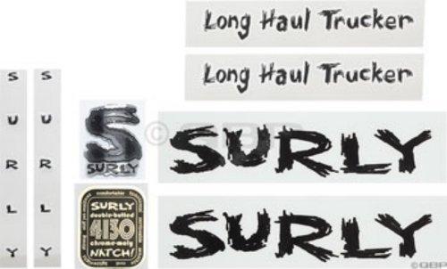 Surly Fahrradkalender Long Haul Trucker Rahmen Sticker Kit schwarz