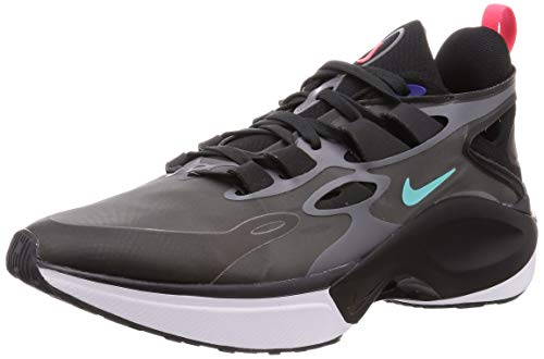 Nike Signal D/MS/X Herren Running Trainers AT5303 Sneakers Schuhe (UK 8.5 US 9.5 EU 43, Black Darek Grey 005)