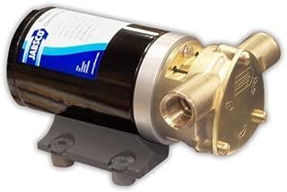Jabsco 18670-0123 Marine Water Puppy Bilge/Sump Flexible Impeller Commercial Duty Pump (470-GPH, 12-Volt, 15-Amp Non-CE, 1/2 NPT Ports) by Jabsco