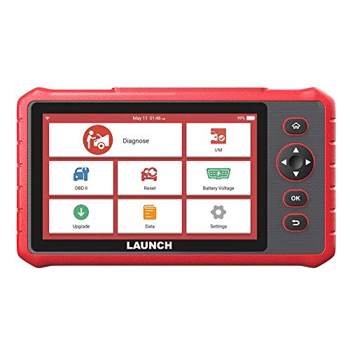 LAUNCH CRP909X OBD2 Scanner Diagnostic Tool with 15 Reset Functions and Full Systems Scan Tool Android 7.1 Based and 7.0'' Touchscreen with Wi-Fi One-Click Included Updates [ NEW 2020 ]