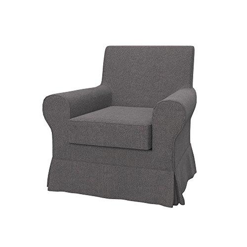 Soferia - IKEA EKTORP JENNYLUND Funda para sillón, Glam Grey