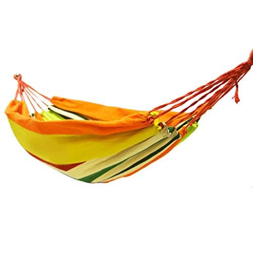 Hangmat HXF metalen gesp canvas outdoor campingstoel slaapkamer schommel Gemak 200*80cm C