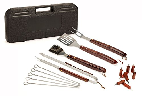 Specification of Cuisinart CGS-W18 18 Piece Wooden Handle Grill Set