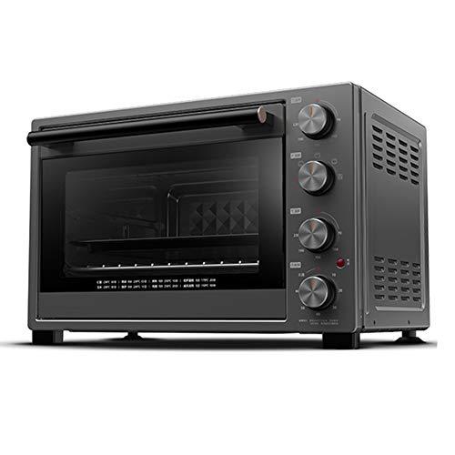 Toaster oven STBD-Mini-Four à Usage Domestique, 32L, 1500W, avec Lampe Anti-déflagrant/Plaque de Cuisson/Grille/Plateau de Prise et Attache Anti-déflagrant, Grille-Pain, Noir