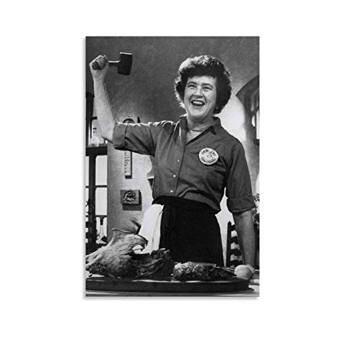 Julia Child's 'Mastering The Art of French Cooking Poster Decorative Painting Canvas Wall Art Living Room Posters Bedroom Painting 24x36inch(60x90cm)