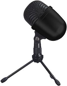 Amazon Basics Desktop Mini Condenser Microphone with Tripod