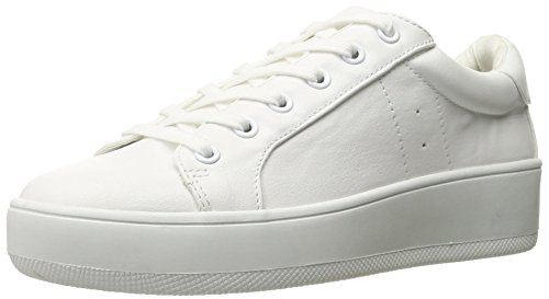 Steve Madden Women's Bertie Fashion Sneaker, White, 7.5 M US