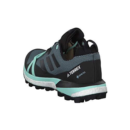 adidas Terrex Skychaser Lt GTX W, Chaussures de Fitness Femme, Multicolore (Gricen/Negbás/Mencla 000), 36 2/3 EU