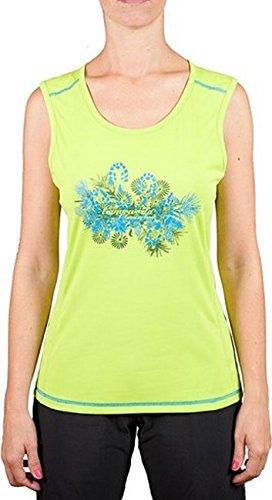 Trango Shiva T- T-Shirt Femme, Vert, FR : M (Taille Fabricant : M)