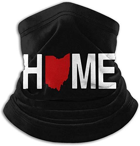 Home Sturmhaube Atmungsaktive Gesichtsbedeckung Schal Mikrofaser-Halswärmer für...