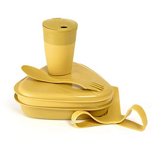 Light My Fire Set Vaisselle Camping - Kit Picnic 5 Couverts Camping - Vaisselle Plastique Reutilisable 100% sans BPA - Micro-Onde & Lave-Vaisselle - Couverts Pique Nique Cuisine Camping Et Randonnée