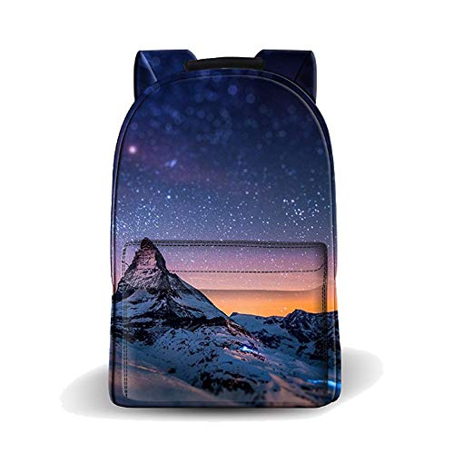 Deeumy DJ Backpack Galaxy School Bags,DJ School Rucksack Unisex Laptop Backpack Casual Daypack Travel Shoulder Bag Music Backpack for Kids/Students/Adults(1)