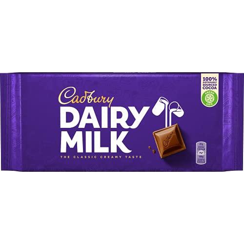 Cadbury Dairy Milk - tavoletta di cioccolato al latte - 200 g