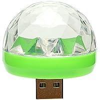 iTimo Lámpara LED de ambiente para coche, cambia de color RGB con USB para discoteca, karaoke, DJ, escenario, fiesta, iluminación
