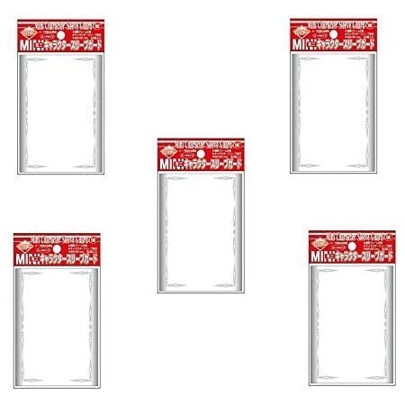 KMC Character Guard Mat and Clear Standard Oversized Card Sleeves 10 Packs