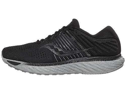 Saucony Herren Triumph 17 Sneaker, Negro, 46.5 EU