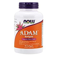 MULTI VITAMIN SPECIALLY FORMULATED FOR MEN: NOW ADAM Superior Men's Multi vitamin in softgels are gentler and easier to swallow and are formulated for better GI tolerability. Like NOW's other supplements, this multi is science-based and tested for pu...
