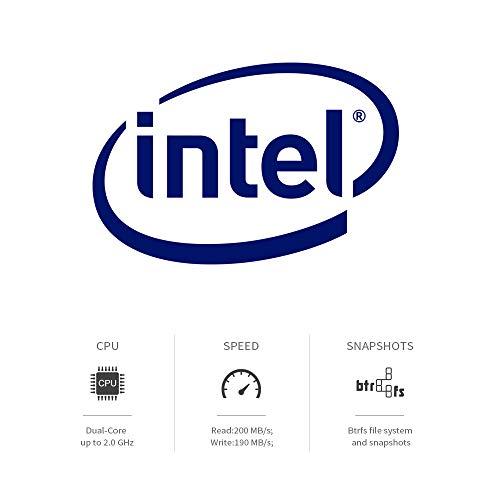TERRAMASTER F5-221 Nas 5bay Cloud Storage Intel Dual Core 2.0 GHz Plex Media Server Storage di Rete(Senza Disco)
