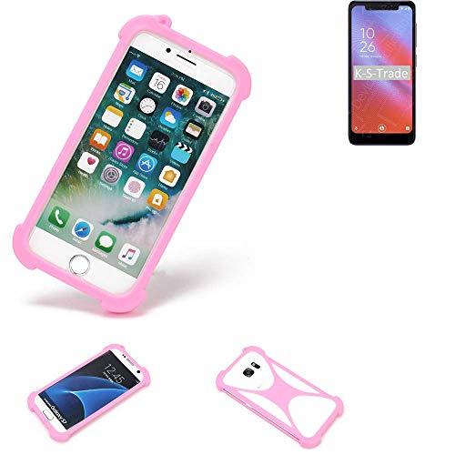 K-S-Trade Paraurti per Cellulare Vodafone Smart N10 Paraspruzzo in Silicone Custodia Cover Bumper...