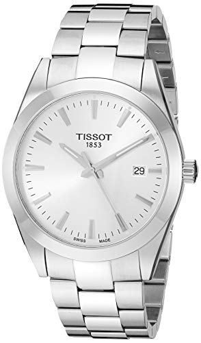 Tissot herenhorloge Gentleman Quarz T127.410.11.031.00
