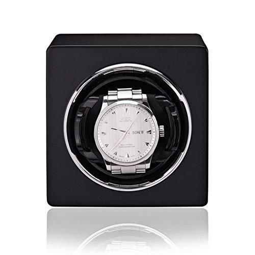 ZCYXQR Enrolladores de Reloj Reloj mecánico automático clásico Agitador de Motor Rojo Naranja Negro Mini Dispositivo de Cuerda de Reloj Individual Watch Ho (Caja de presentación de Reloj)