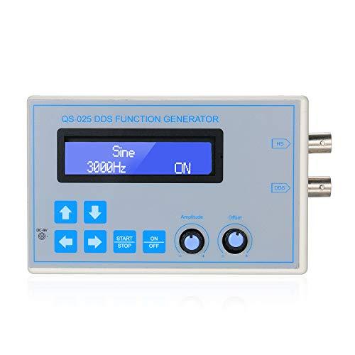 KKmoon DDS Funktion Signal Generator Sinus Rechteck Dreieck Sägezahn Niederfrequenz LCD Anzeige USB-Kabel DC9V 1Hz-65534Hz