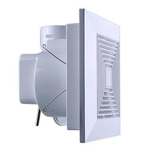 MagiDeal AC 220V 50Hz Badlüfter Wandlüfter Deckenlüfter Rohrlüfter Ventilator mit Wärmeschutz, hohe Geschwindigkeit und geringe Geräusche - 250x250mm